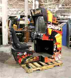 Raw Thrills Fast and Furious Sit Down Racing Arcade