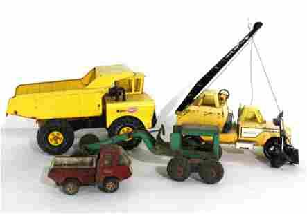 Metal Trucks / Tractors Incl. Structo and NY Lint