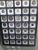 GROUP OF 35 MISC FOREIGN COINS