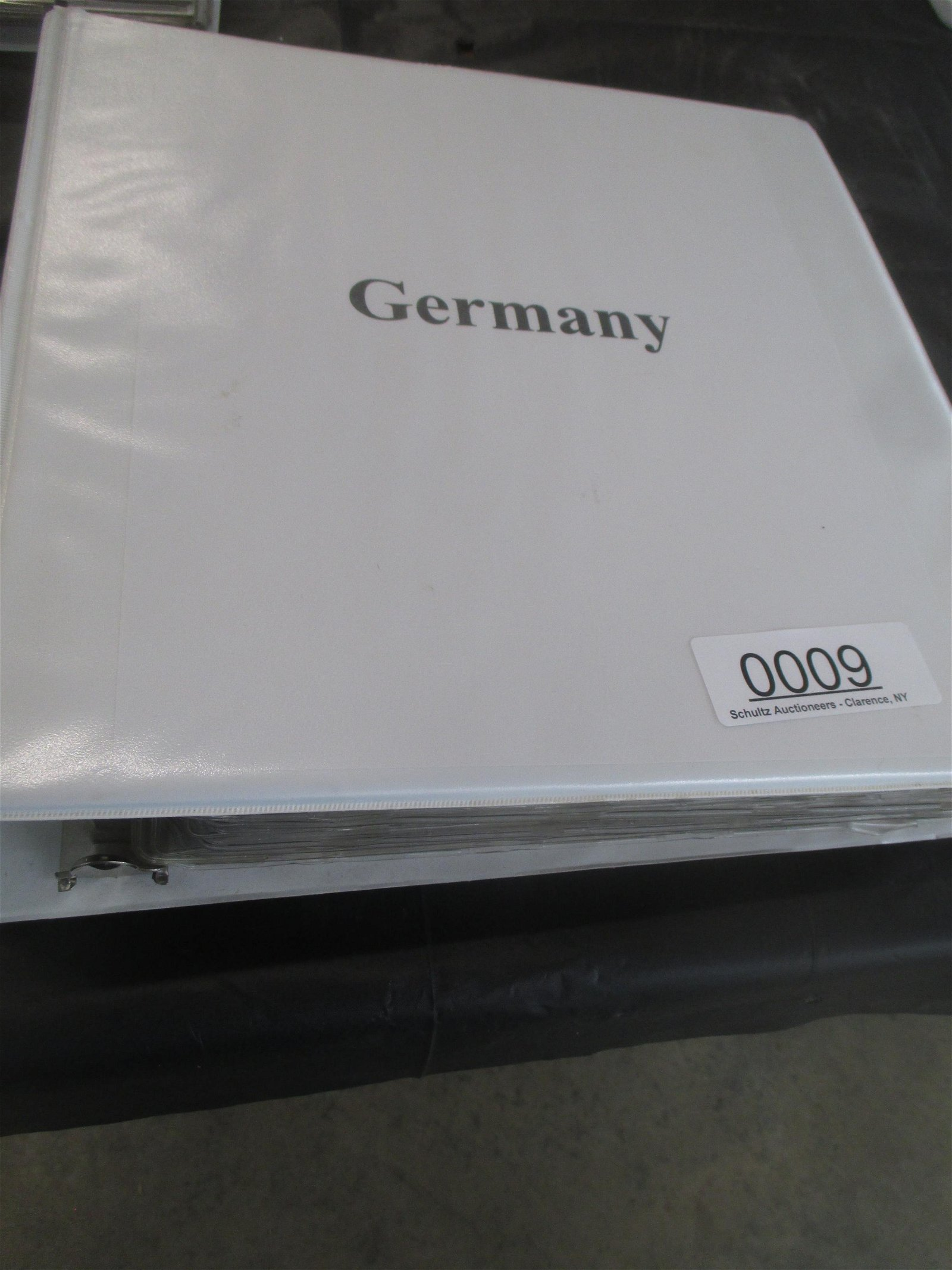 BINDER WITH APPROX 280 COINS FROM GERMANY