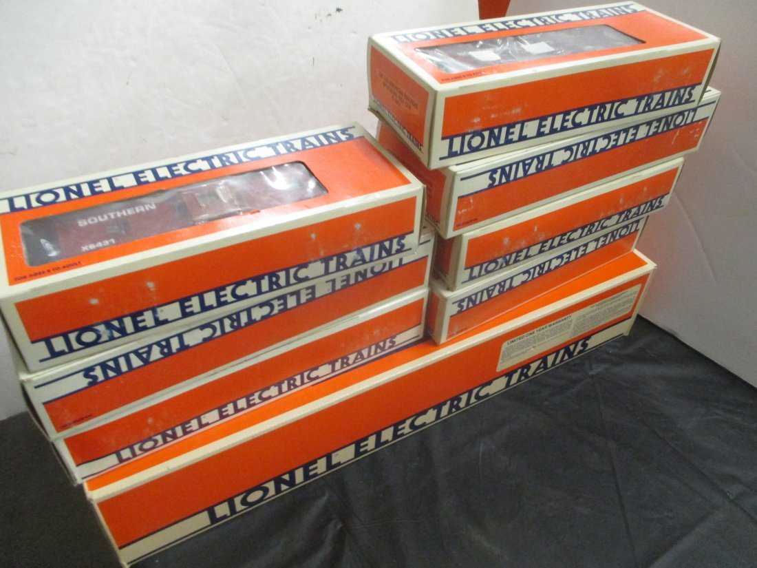 LIONEL FAMOUS AMERICAN RAILROAD SOUTHERN TRAINS