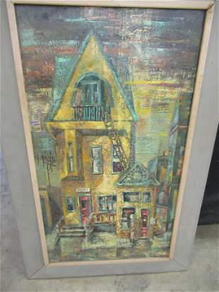 OIL ON CANVAS PAINTING SIGNED JAYNE MCCORMICK