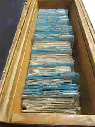 APPROX 1100 POSTCARDS OF NEW YORK STATE JTOM