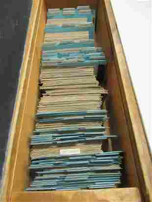 APPROX 1000 POSTCARDS OF NEW YORK STATE MTOO