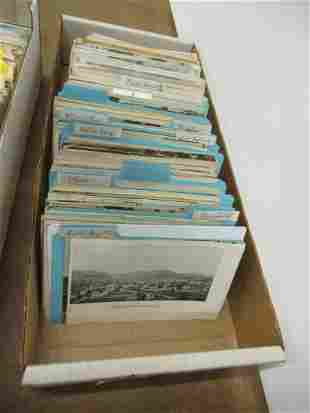 APPROX 500 POSTCARDS FROM VERMONT