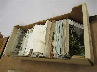 APPROX 400 POSTCARDS FROM NEW ENGLAND ETC