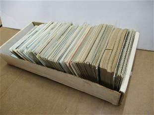 APPROX 600 POSTCARDS FROM VARIOUS US CITIES