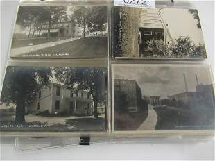 APPROX 130 REAL PHOTO POSTCARDS INCL PARKS ETC