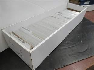 APPROX 800 POSTCARDS OF PENNSYLVANIA