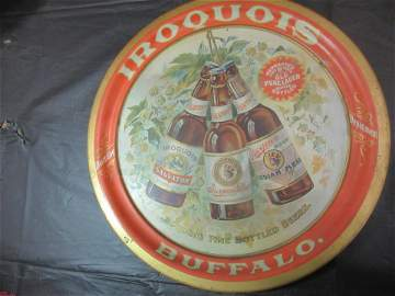 Pre-Prohibition Iroquois Beer Tray