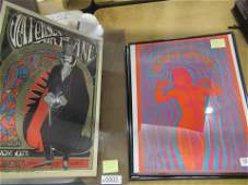 Lot of 5 Concert and Rock Posters