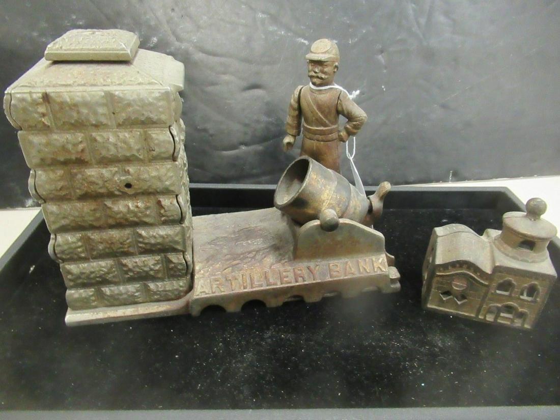Artillery Bank and Smaller Building Bank
