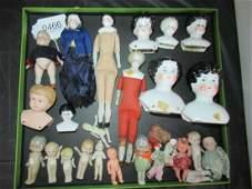 Mixed Group incl. Small China Dolls