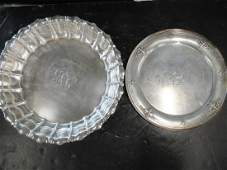 2 Sterling Silver Trays incl. Gorham