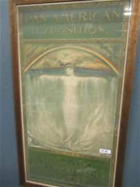 The Spirit of Niagara Original Pan Am. Poster