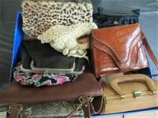 Lot of Beaded Purses, Handbags, Etc
