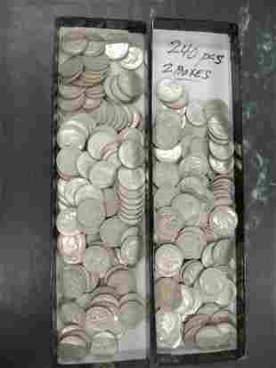 Approx. 240 Silver Dimes