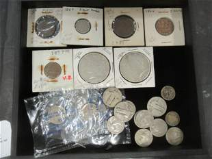 Group of Misc. Mostly American Coins