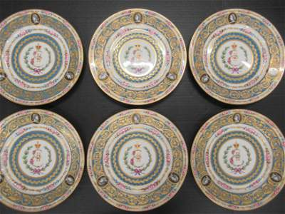 6 Catherine the Great Plates