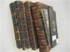 Group of Books and Map of Erie & Nia. Co.