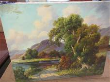 Paul Wesley Arndt Landscape Painting