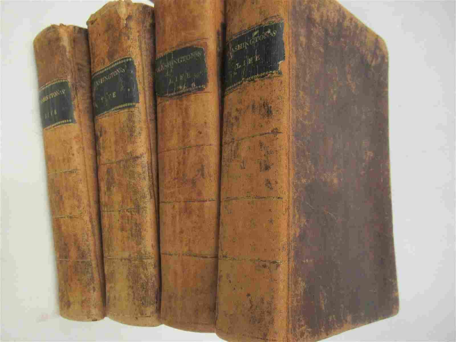 4 Volume Set The Life of George Washington 1st Ed