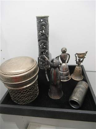 Group of Misc. Mostly Silver Items