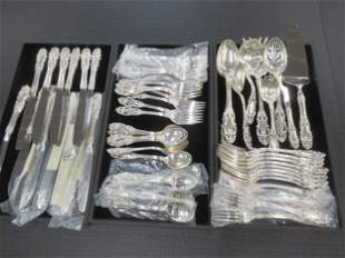 3 Trays of Sterling Flatware
