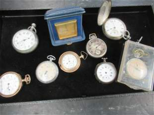 Group of Approx 8 Pocket Watches