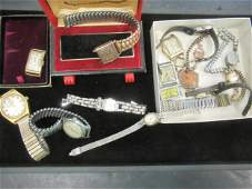 Misc Tray of Mens Wristwatches