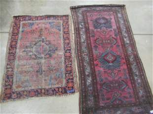 2 Persian Oriental Rugs