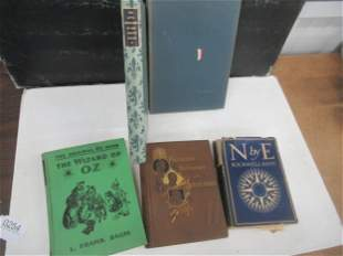 4 Books incl. North by East by Rockwell Kent