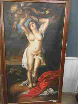 20th C Copy of an Old Masters Style Painting