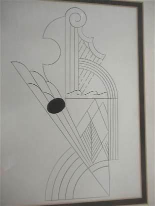 Lithograph by Roy Lichtenstein