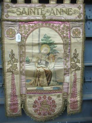 Religious Silk Double Sided Panel