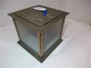 National Brass Cash Box