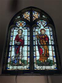 2 Leaded and Stained Glass Windows