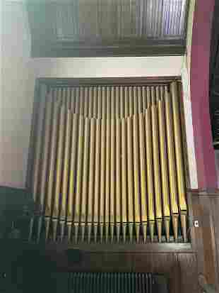 Group of 23 Pipes for a Pipe Organ
