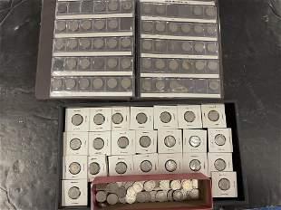 Lot of Liberty Head Nickels & Shield Nickels
