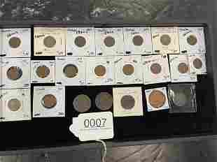 Indian Head Lincoln Head Pennies & Half Cents etc