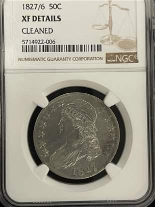 1827/6 Liberty Half Dollar