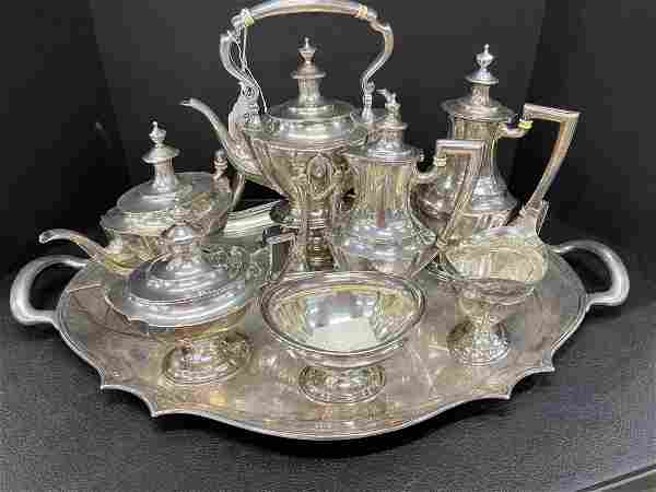 Tiffany + Co Sterling Silver Tea Set
