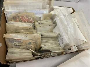 Mixed Box Lot of Stamps
