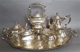 Gorham  Sterling 7 pc Tea Set  307 t oz tw