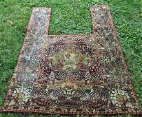 Extremely Rare Antique Persian Carpet Horse Cover