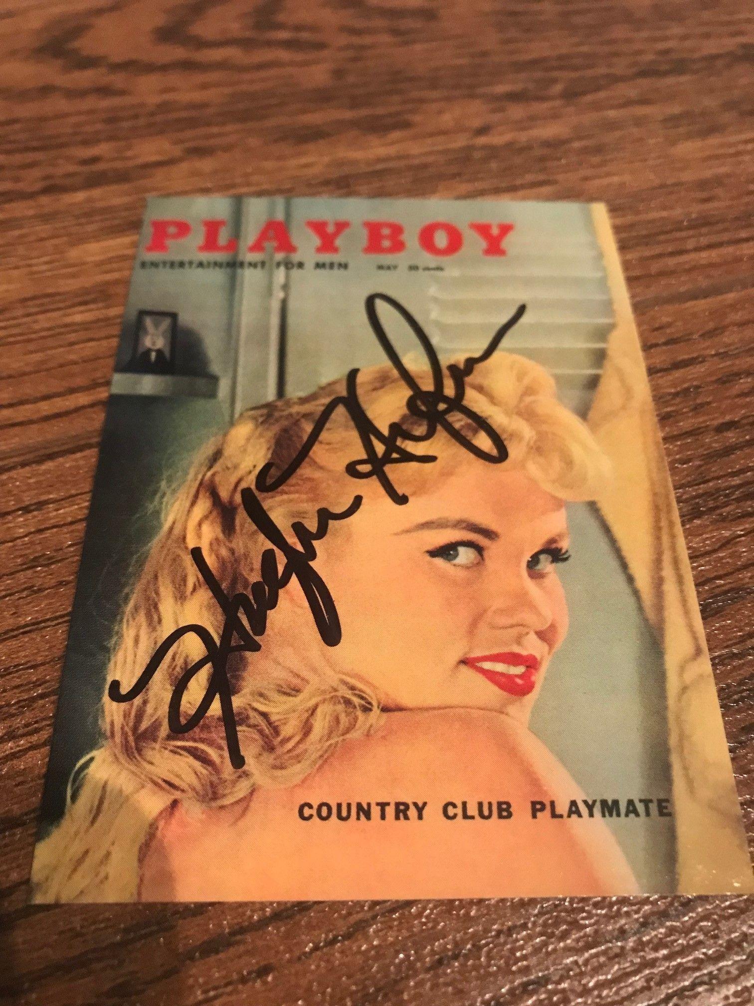 Hugh Hefner Signed Vintage Playboy Trading Card
