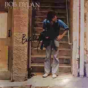 Bob Dylan Signed Street Legal Vinyl LP Certified