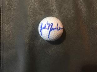 Jack Nicklaus Signed Golf Ball Certified
