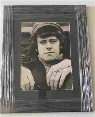Donovan Official Signed Framed Photograph Certified