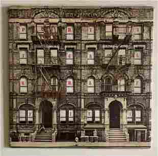 Led Zeppelin Fully Signed Physical Graffiti Vinyl LP